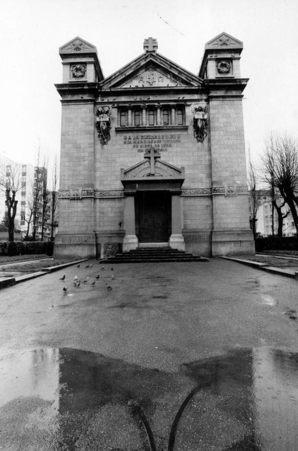 Chapelle brotteaux crypte brotteaux