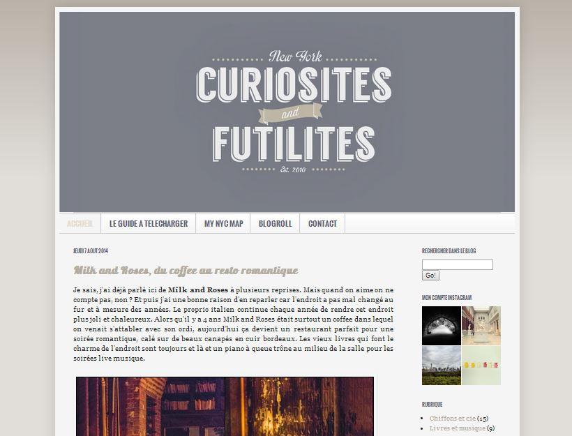 curiosites futilites