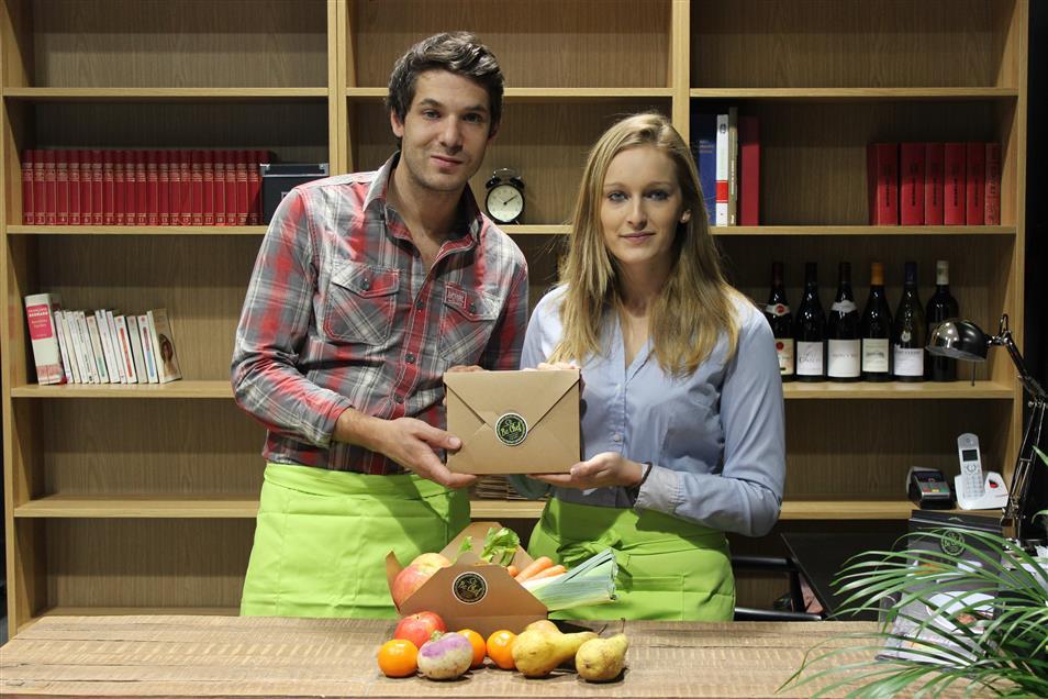 Portrait Iris et Tibo- Be Chef