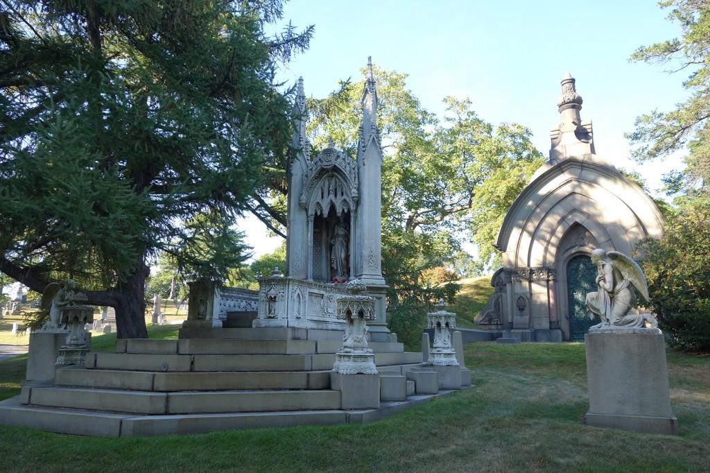 Cimetière de Greenwood, Brooklyn, New York. Crédits : Justeunedose.fr