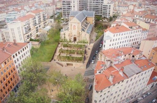 L'église Saint Bernard à Lyon à l'horizon 2019. Crédits : http://www.aleparchitectes.fr/